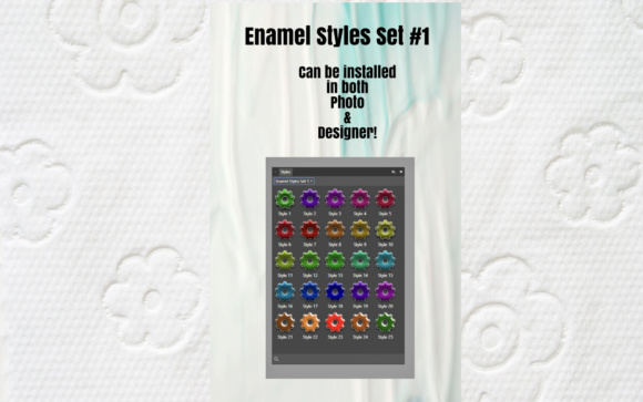 Enamels Styles for Affinity Photo & Affininty Designers Graphic By Angela H. Evans Image 2
