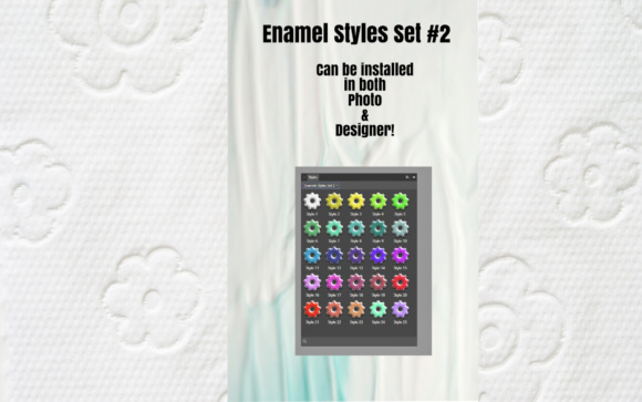 Enamels Styles for Affinity Photo & Affininty Designers Graphic By Angela H. Evans Image 3