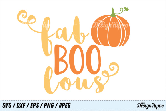 Fab Boo Lous SVG Graphic By thedesignhippo Image 2