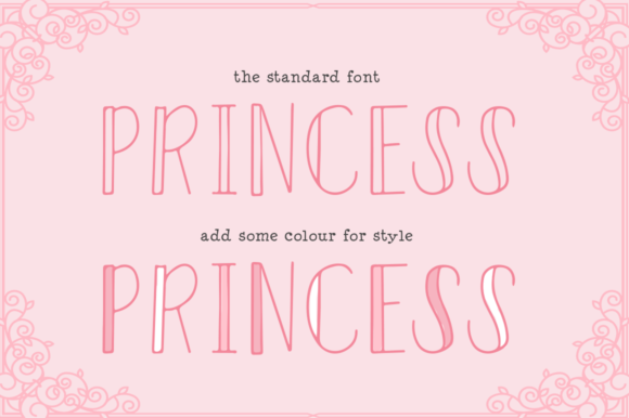 Print on Demand: Fairytales Display Font By Salt & Pepper Designs - Image 3