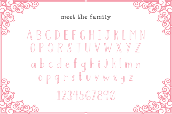 Print on Demand: Fairytales Display Font By Salt & Pepper Designs - Image 4