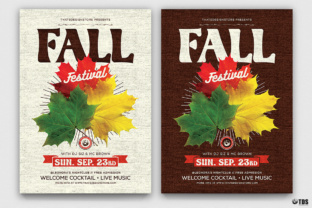 Fall Festival Flyer Template Graphic By ThatsDesignStore
