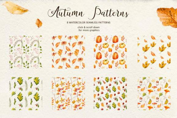 Fall in Love - Watercolor Clipart Graphic Illustrations By tregubova.jul - Image 12
