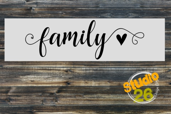 Family Graphic Crafts By Studio 26 Design Co