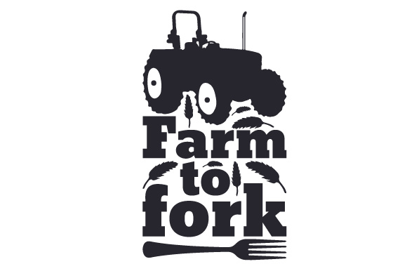 Download Free Farm To Fork Svg Cut File By Creative Fabrica Crafts Creative for Cricut Explore, Silhouette and other cutting machines.