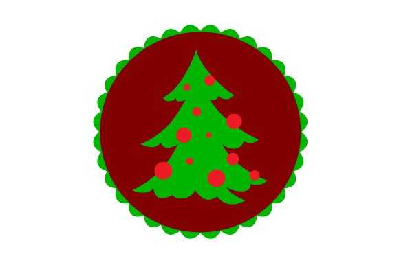 Floating Christmas Ornament Christmas Tree Svg Cut File By