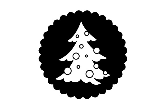 Download Free Floating Christmas Ornament Christmas Tree Svg Cut File By for Cricut Explore, Silhouette and other cutting machines.