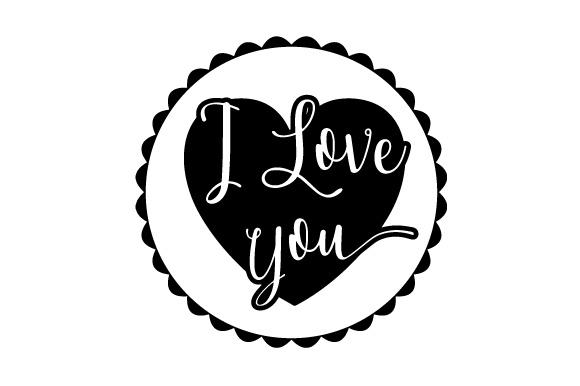 Download Free Floating Christmas Ornament I Love You Svg Cut File By for Cricut Explore, Silhouette and other cutting machines.