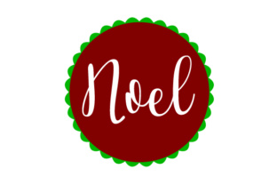 Floating Christmas Ornament - Noel Christmas Craft Cut File By Creative Fabrica Crafts