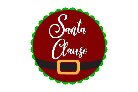 Floating Christmas Ornament   Santa Clause Christmas Craft Cut File By Creative Fabrica Crafts - Image 1