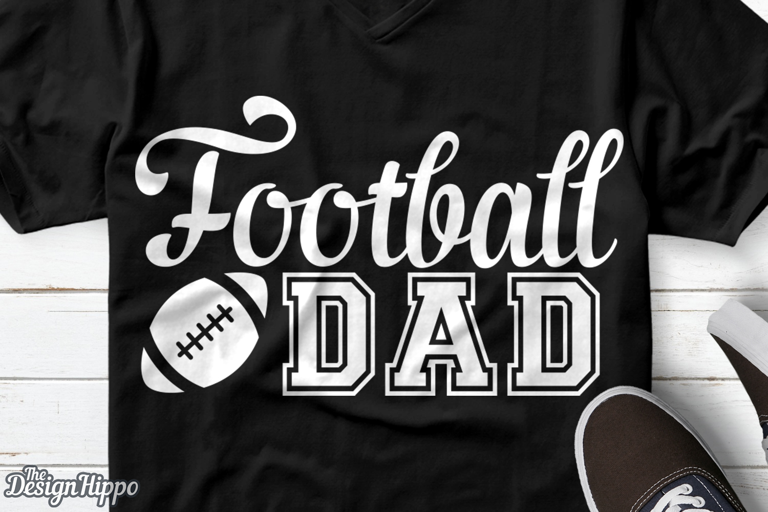 Download Free Football Dad File Graphic By Thedesignhippo Creative Fabrica for Cricut Explore, Silhouette and other cutting machines.