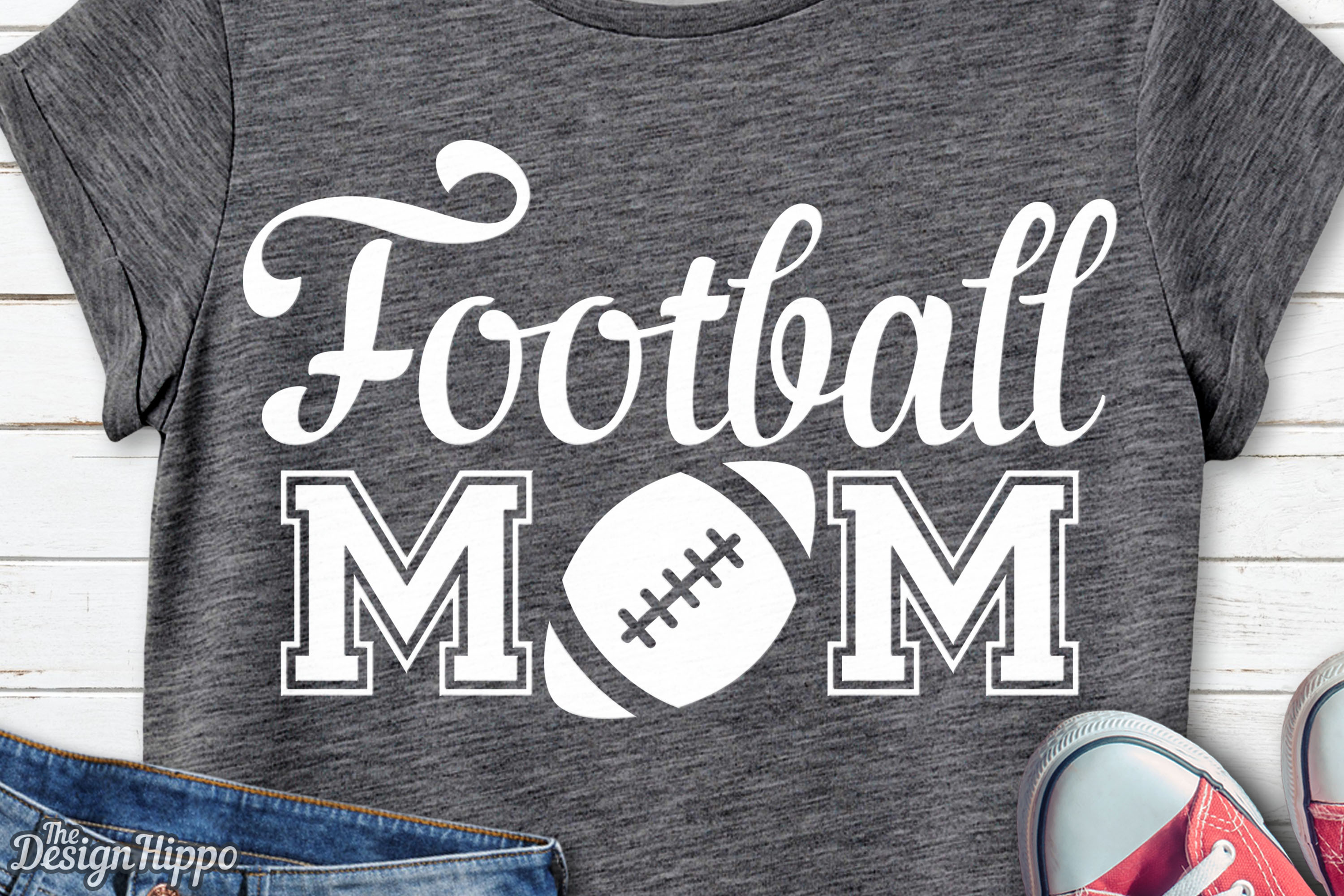Download Free Football Mom Graphic By Thedesignhippo Creative Fabrica for Cricut Explore, Silhouette and other cutting machines.