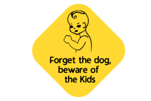 Forget the Dog, Beware of the Kids Craft Design By Creative Fabrica Crafts