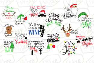 Download Free Funny Christmas Bundle Grafico Por Sheryl Holst Creative Fabrica for Cricut Explore, Silhouette and other cutting machines.