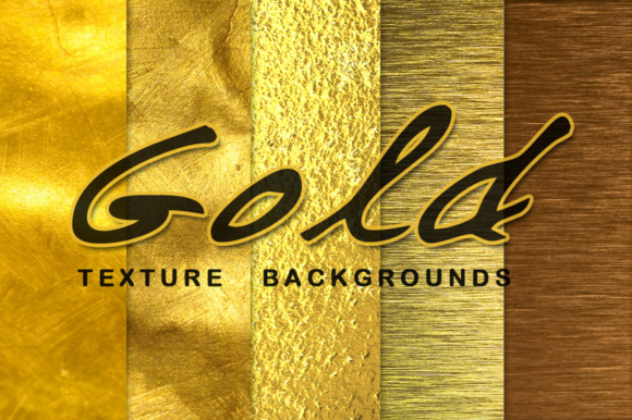 Print on Demand: GOLD Texture Background Graphic Textures By vito12