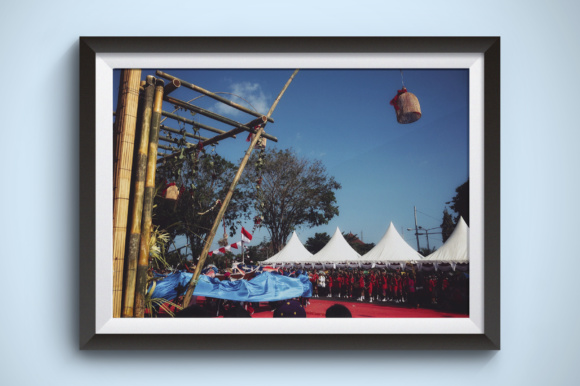 Galungan Celebration in Bali Graphic Arts & Entertainment By Kerupukart Production - Image 1