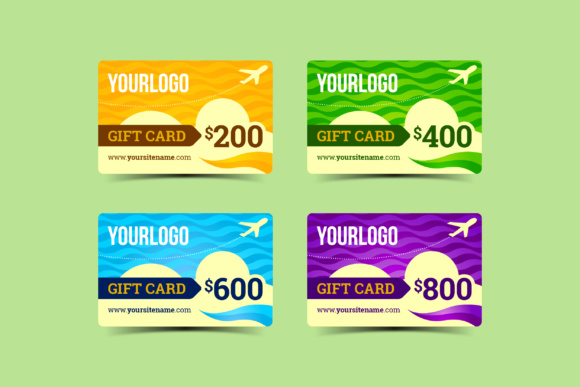 Gift Cards Graphic By KitCreativeStudio