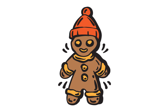 Download Free Gingerbread Man Svg Cut File By Creative Fabrica Crafts Creative Fabrica for Cricut Explore, Silhouette and other cutting machines.