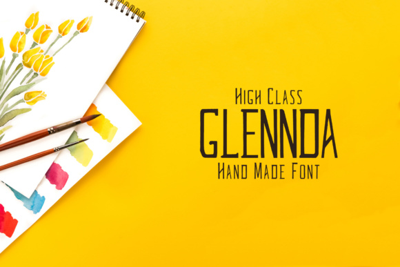 Print on Demand: Glennda Family Script & Handwritten Font By Creative Tacos
