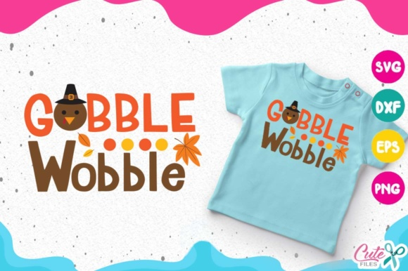 Download Free Gobble Wobble Turkey Face Thanksgiving Svg Graphic By Cute for Cricut Explore, Silhouette and other cutting machines.