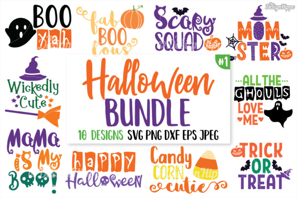 Halloween SVG Bundle Graphic Crafts By thedesignhippo