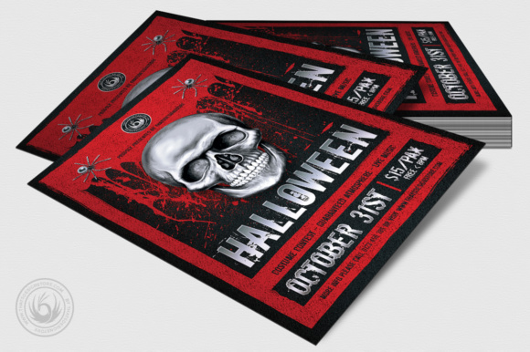 Halloween Flyer Template Graphic Print Templates By ThatsDesignStore - Image 4