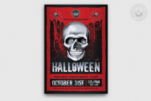 Halloween Flyer Template Graphic By ThatsDesignStore
