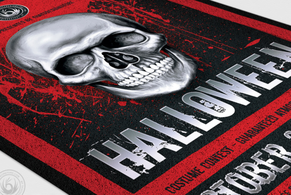 Halloween Flyer Template Graphic Print Templates By ThatsDesignStore - Image 6