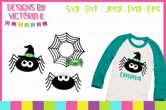 Halloween Spiders  Graphic Crafts By Designs By Victoria K
