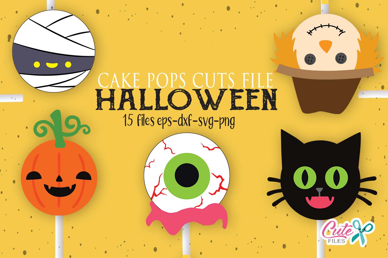 15 Halloween Candy Designs Graphic By Cute Files Creative Fabrica