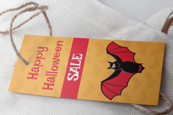 Download Free Halloween Label Tags Grafico Por Butus Cm Creative Fabrica for Cricut Explore, Silhouette and other cutting machines.