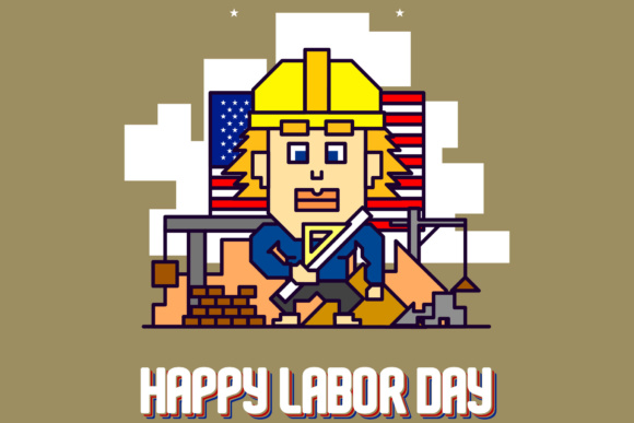 Happy Labor Day Graphic By KitCreativeStudio