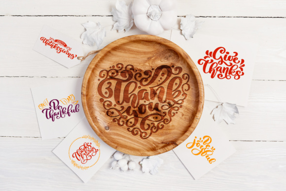 Happy Thanksgiving Vector Pack Graphic Illustrations By Happy Letters - Image 7