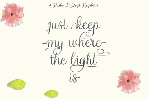 Harland Script Font By Cooldesignlab Image 3
