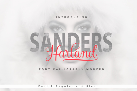 Print on Demand: Harland Script Script & Handwritten Font By Cooldesignlab