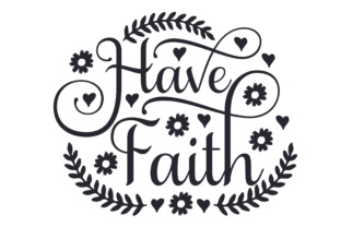 Have Faith Craft Design By Creative Fabrica Crafts