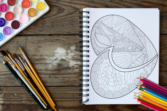 Hearts Coloring Book - 30 Love Coloring Pages Graphic Coloring Pages & Books Adults By ColoringBooks101 - Image 4