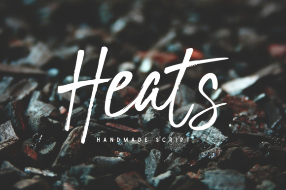 Print on Demand: Heats Script & Handwritten Font By AMTYPES