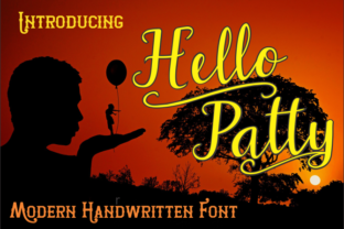Download Free Hello Patty Font By Jaime Rangel Castro Creative Fabrica for Cricut Explore, Silhouette and other cutting machines.