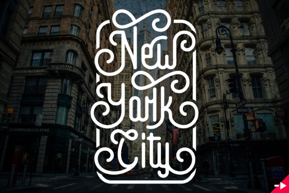 Print on Demand: Hello World Display Font By Munerf - Image 3