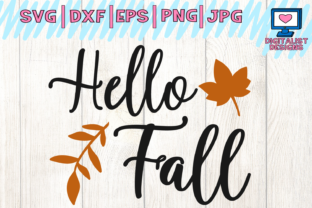 Download Free Hello Fall Graphic By Digitalistdesigns Creative Fabrica for Cricut Explore, Silhouette and other cutting machines.