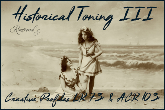 Historical Toning III Profiles Graphic Actions & Presets By Raztrend