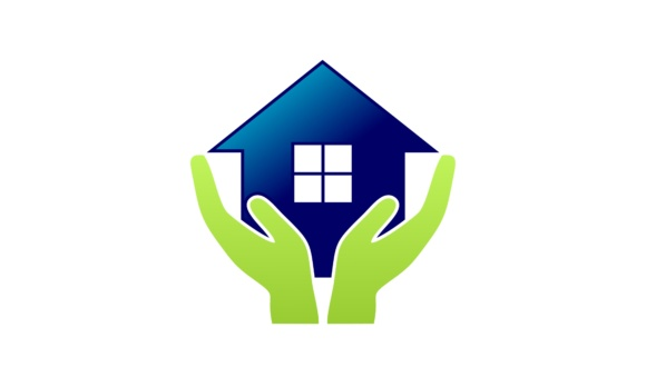 Home Care, Marketing Home Solution Logo Graphic Logos By 2qnah