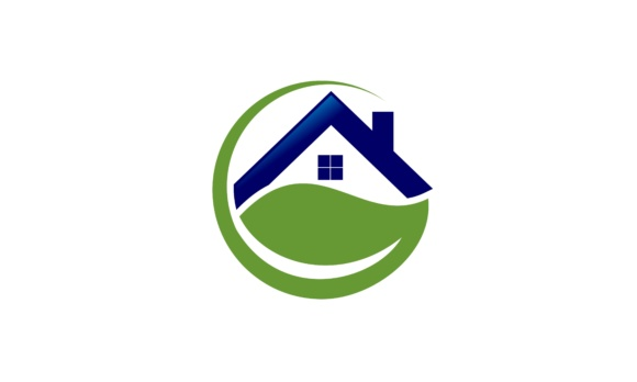 Home Leaf, Green, Real Estate Logo Graphic Logos By 2qnah