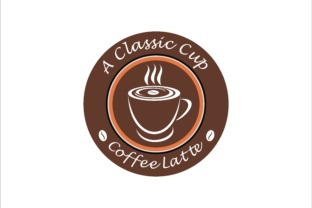 Download Free Hot Coffee Latte Classic Graphic By Leisureprojects Creative for Cricut Explore, Silhouette and other cutting machines.