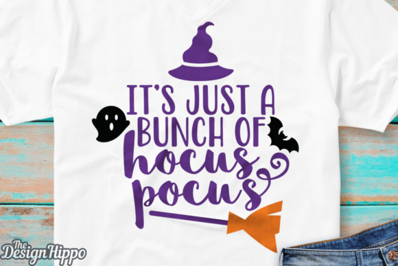 Its Just a Bunch of Hocus Pocus SVG Graphic By thedesignhippo Image 2