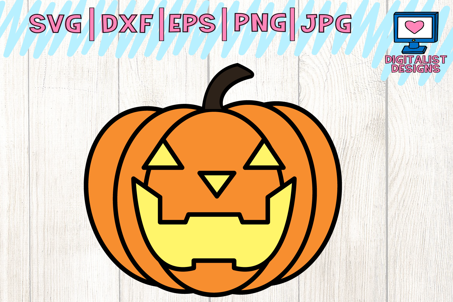 Download Free Jack O Lantern Svg Graphic By Digitalistdesigns Creative Fabrica for Cricut Explore, Silhouette and other cutting machines.