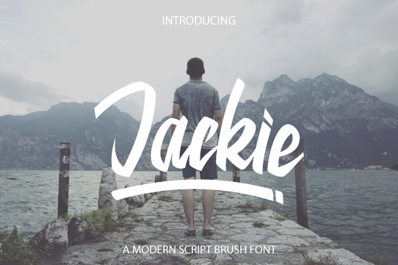 Print on Demand: Jackie Script & Handwritten Font By Graphix Line Studio