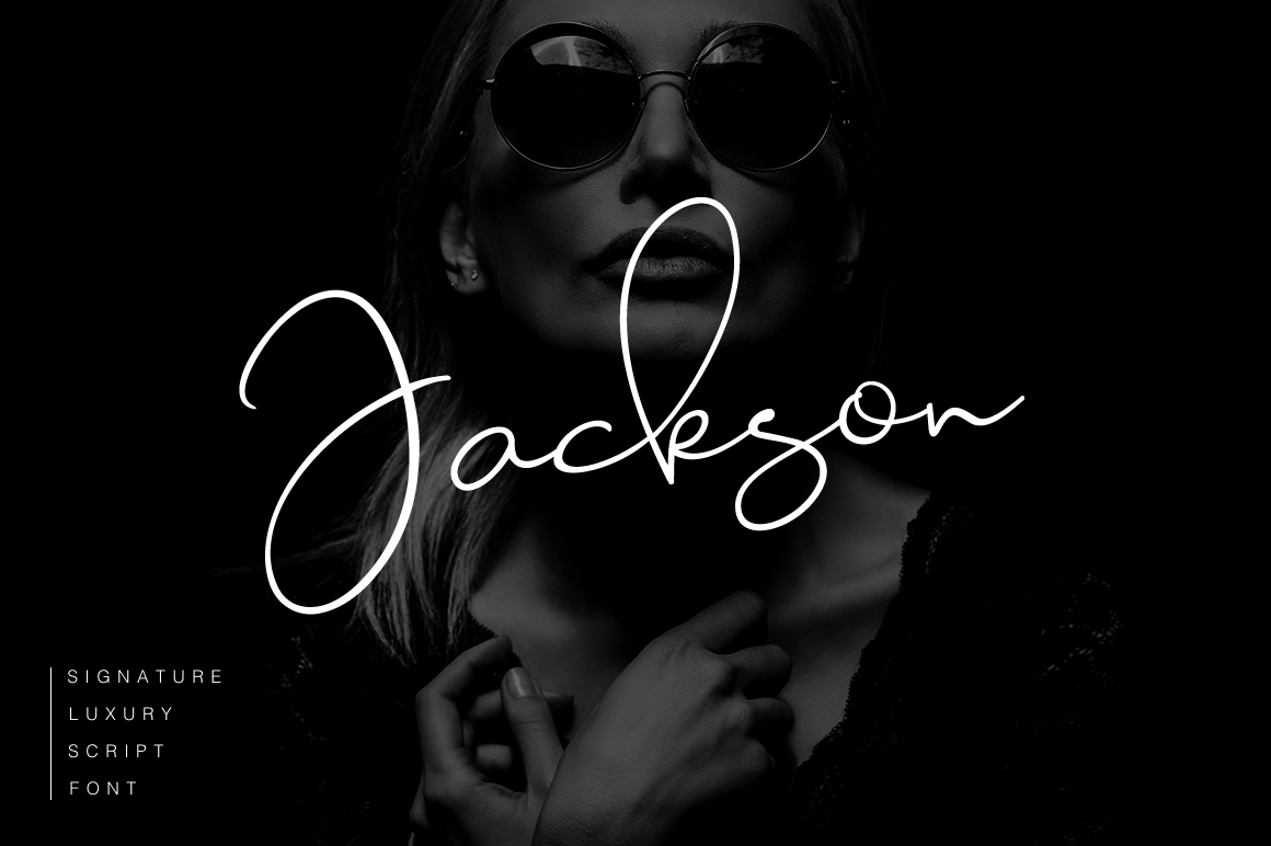 Download Free Jackson Font By Pasha Larin Creative Fabrica for Cricut Explore, Silhouette and other cutting machines.