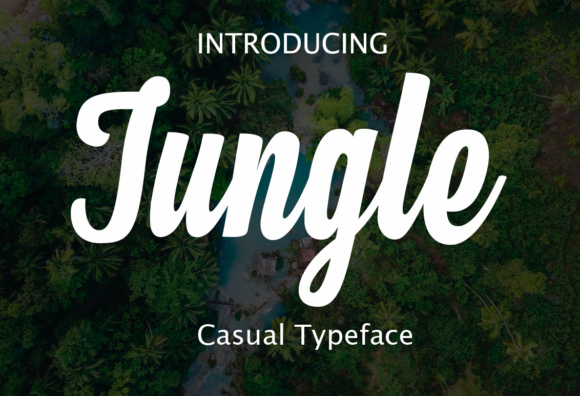 Print on Demand: Jungle Script & Handwritten Font By fontysia
